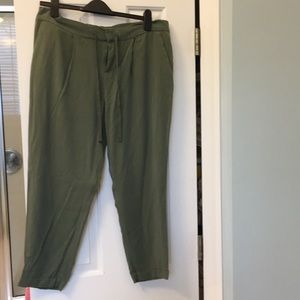 Old Navy Green Slouchy Pants